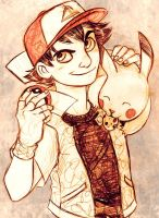 Ash or Satoshi by MistyTang