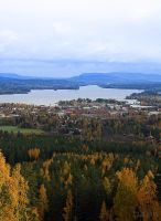 Town into autumn by RobinHedberg