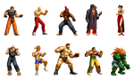 Street Fighter Collection by Street-Spriter