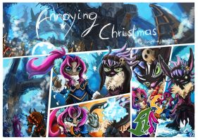 Annoying Christmas Pt.1 by knight-mj