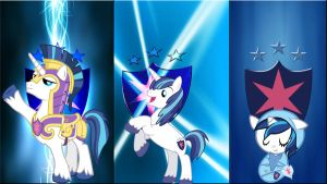 3 Shining Armors by Mr-Kennedy92