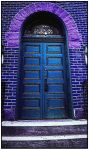 Behind the Blue Door by rickster155