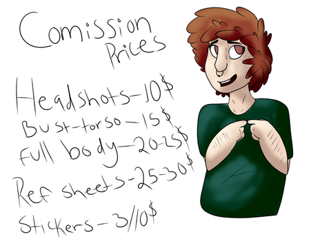 Comissions open,note me for details by EnthusiasticLecturer