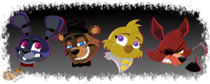 Freddy and Friends by TheOctoberScarf