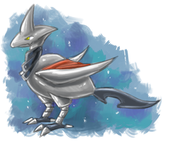 Skarmory by RainbowOnHigh