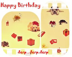 Herpy Derpday by Christiania-unica