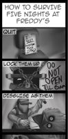 How to Survive Five Nights At Freddy's by WarlordPete