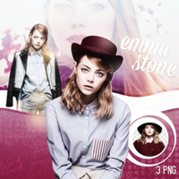 Emma Stone PNG Pack (4) by Nialllovee