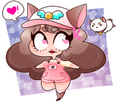 Bee and Puppycat by HeartTier