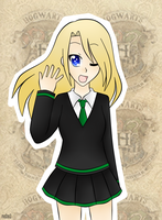 Slytherin - Rima by mo0on3