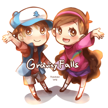 Pines Twins by trudyfish