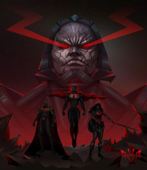 Darkseid s Legacy by Arkenstellar