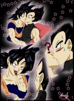 Goku's little suprice by Succuify
