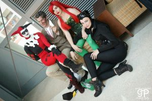 The Sirens... and Two-face by CessaTia
