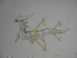 arceus - space form by ericworld