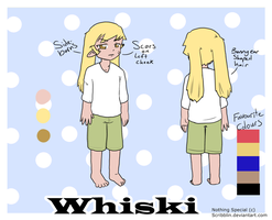 Whiski .Reference. by scribblin