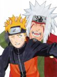 Naruto and Jirayia - Happy Birthday, Josip! by IshidaYuki