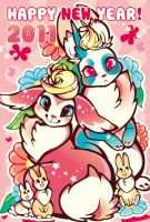 BUNNY FAMILY by mofuwa