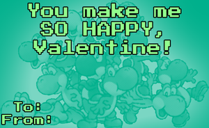 NCS Valentines day card by NintendoRainbow
