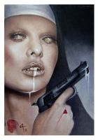 nun, cum and a gun by imagist