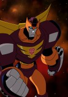 TFA Rodimus Prime by TheBoo