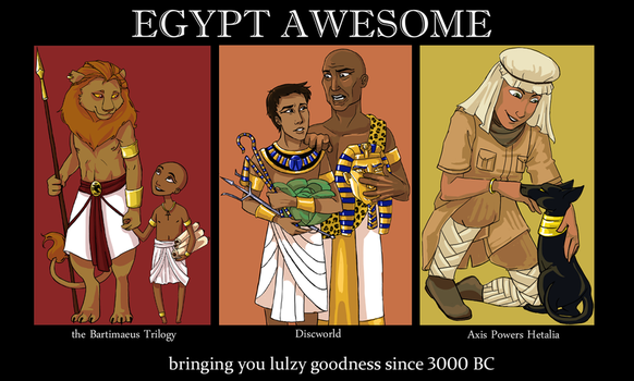 Egypt Awesome by cathyOMG