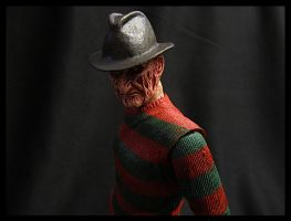Custom Repaint NECA Dream Child Freddy by Police-Box-Traveler