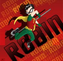 Robin teen titan request by henzo88