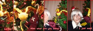 Allen and Tim's Xmas by Giuly-Chan
