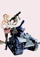Tank Girl by endoftheline