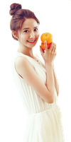 Yoona SNSD render (PNG) by chenykylor