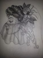 Gypsy Bride (not finished) by NordicMaidenStudios