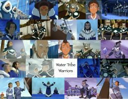 Water Tribe Warriors by JackieStarSister
