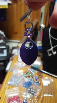 scalemail earrings  by kyinro