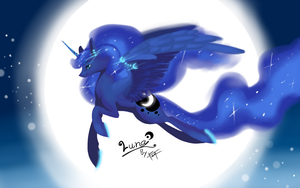 Luna in Galaxy Note 3 by kiruru2592