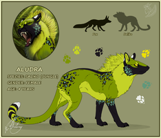 Aludra - CharacterSheet by Chaluny