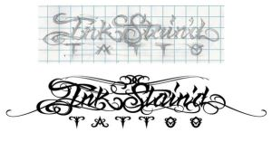 Ink Stain'd Tattoo Type2 by c0nr4d