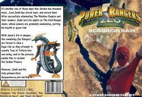 Power Rangers Zeo: Scorpion Rain Custom DVD Cover by ZT4