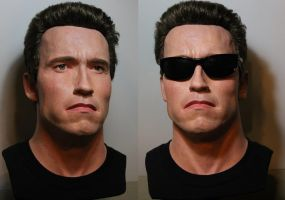 Lifesize T2 Arnold bust 1/1 Version 2 by godaiking