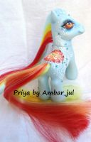My little pony custom Priya by AmbarJulieta
