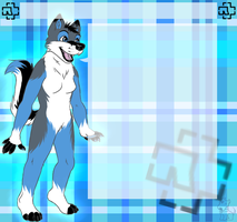 Journalskin Commission: Rayawolf by DesmodiaDesigns