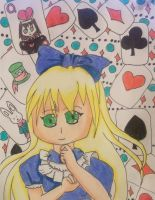alice in wonderland by ninjalove134