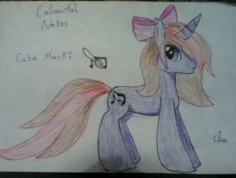 My New OC Colourful Notes by pinkypiepiepinky