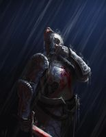 Weeping Knight by Missingtheground