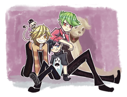 3 Simple Doods~! by MiRokitty-chan