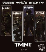 TMNT: promo poster by MazingerX
