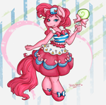 Pinkie Pie's Gala Dress by WaterGleam