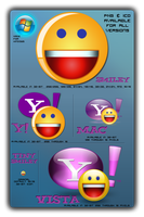 Yahoo Messenger Icon Pack by Logcabin117