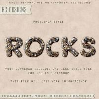PS Style: ROCKS by HGGraphicDesigns