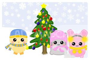 2008 Kawaii Calendar - DEC by LadyMascara